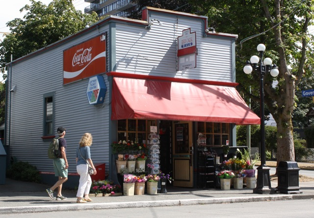Bird Cage Walk Grocery—Victoria's oldest corner store—is located nearby.