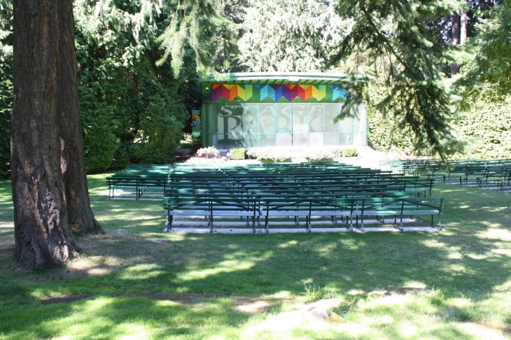 Cameron Bandshell in Beacon Hill Park
